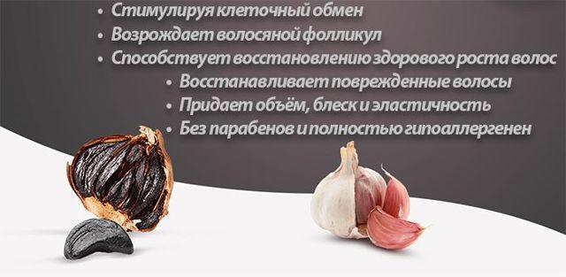 Black Garlic Cure для волос: обзор, отзывы, цена, где купить, свойства