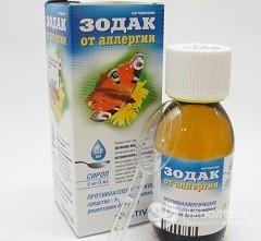 Лекарство зодекс от аллергии - инструкция по применению