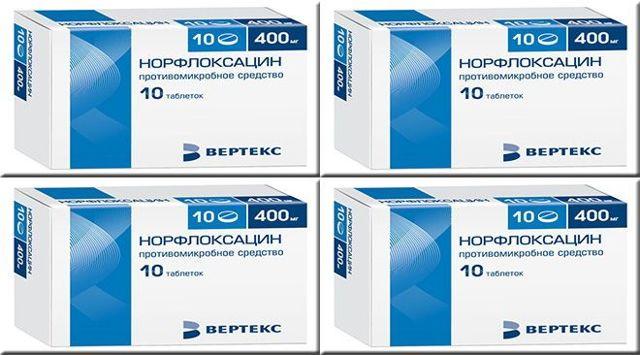Норбактин отзывы простатит таблетки от цистита простатита