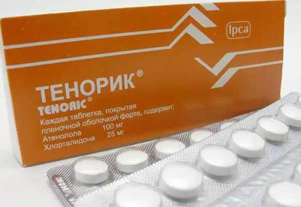 Таблетки от давления тенорик отзывы
