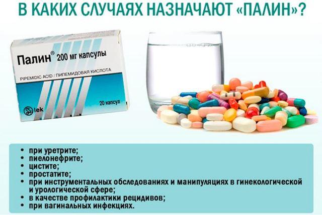 Палин инструкция по применению при цистите: отзывы врачей и пациентов, цена препарата, аналоги