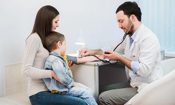 Артериальное давление у детей - таблица и норма по возрасту