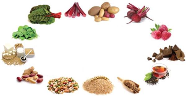 Продукты, которые содержат щавелевую кислоту: список и описание